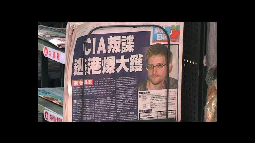Video Úřady hledaly Snowdena ještě před úniky informací do médií