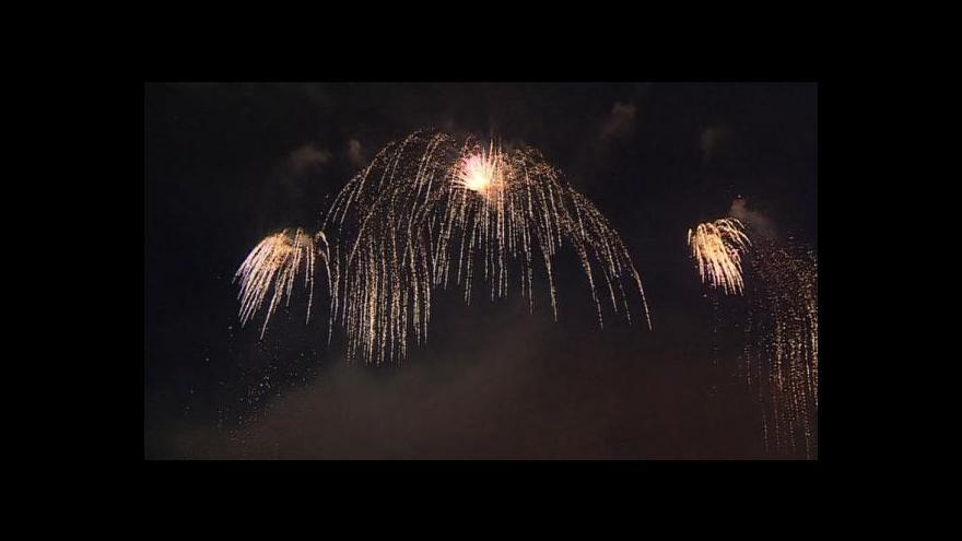Video Barbora Telferová o brněnském ohňostroji