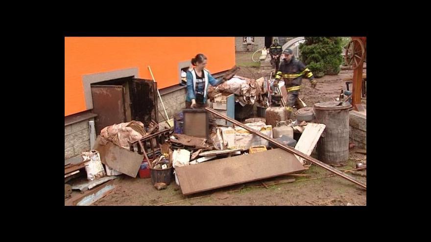 Video Reportáž o svážení povodňového odpadu
