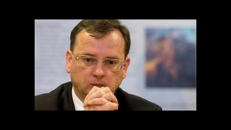 Video Premiér bude hledat ministra kultury