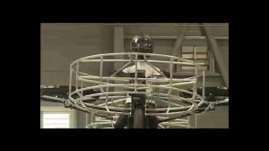 Video Na pražském Výstavišti se vzneslo létající kolo