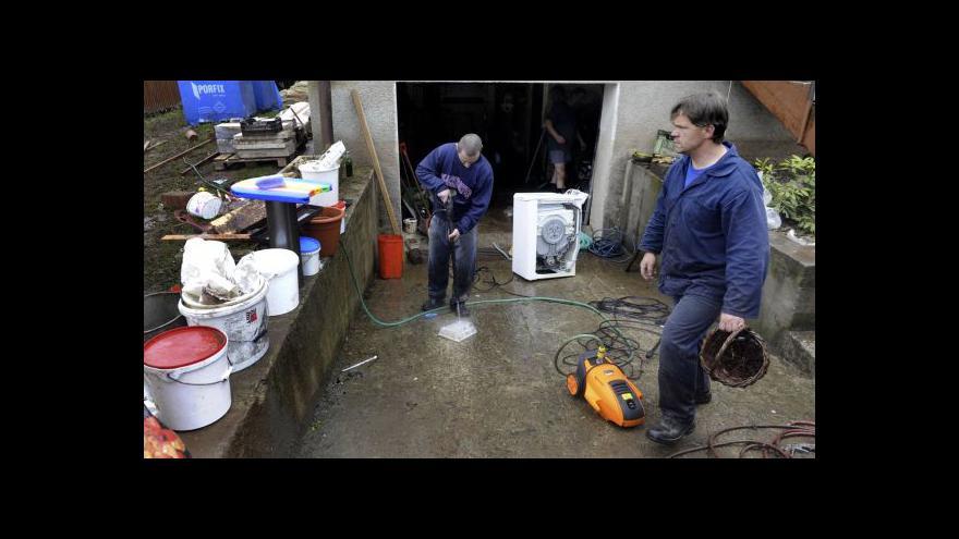 Video Pomoc vlády po povodních tématem Událostí