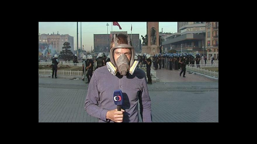 Video Reportáž Hany Scharffové a vstup Václava Černohorského