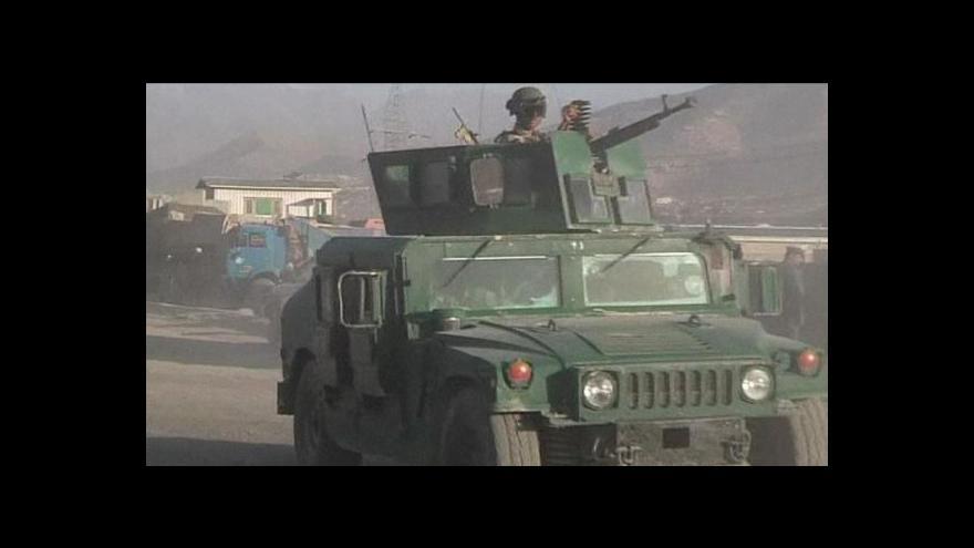 Video Vojáci odrazili útok na kábulské letiště, sedm povstalců zemřelo