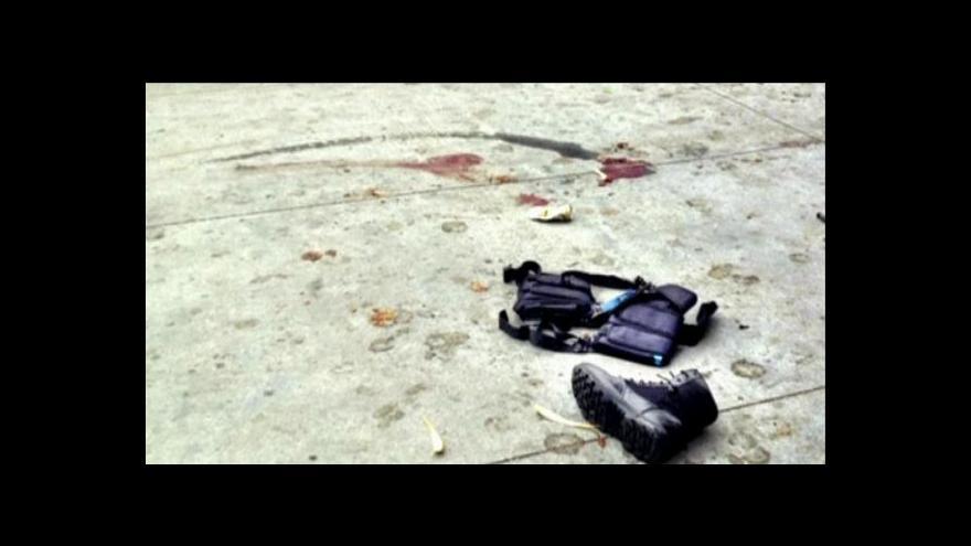 Video Policie dál vyšetřuje případ střelby v americké Santa Monice