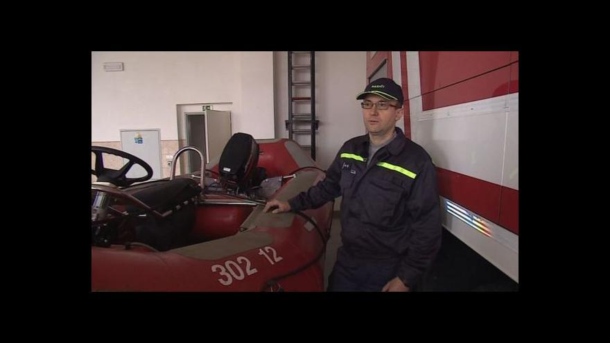 Video Hovoří dobrovolný hasič Milan Skála