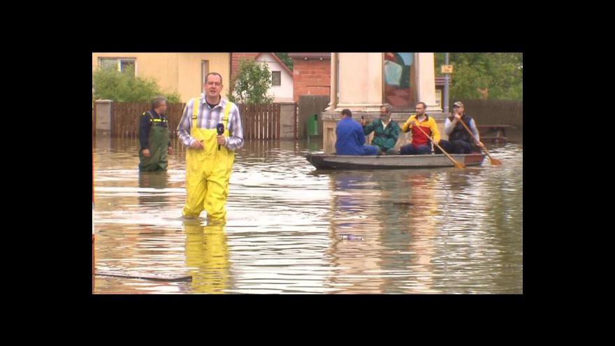 Video Hořín pod vodou