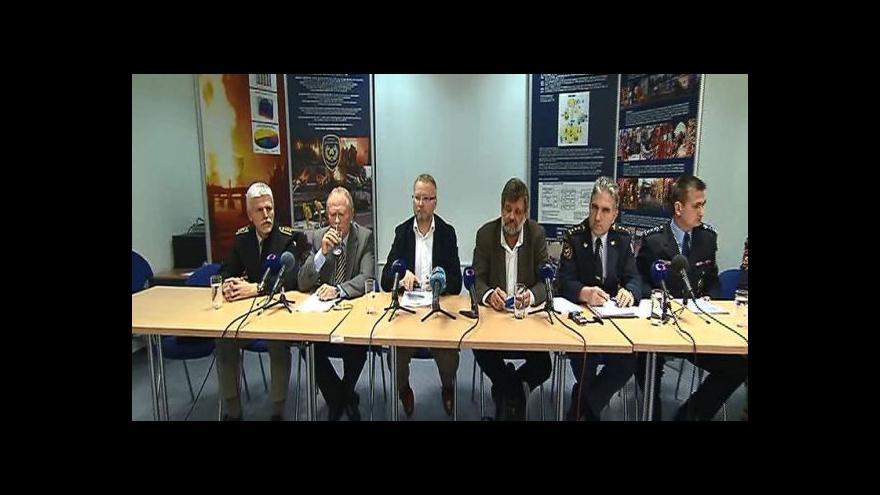 Video Brífink po zasedání Ústředního krizového štábu a Ústřední povodňové komise
