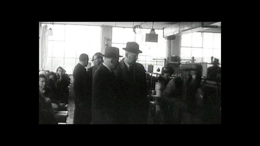 Video Baťovská kolekce v UvR