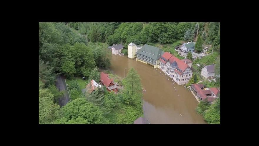 Video Hřensko: Letecké záběry