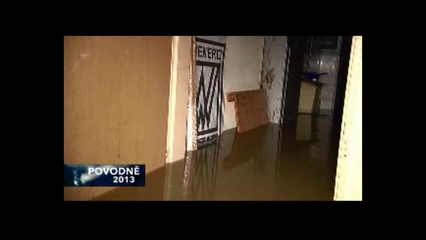 Video Divadlo pod Palmovkou zatopeno