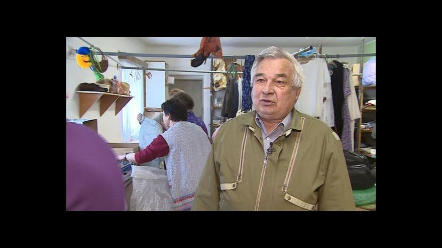 Video Předseda sdružení Omega plus Vladimír Výleta o sbírce v Kyjově