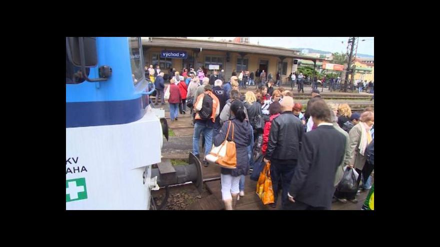 Video Události: Dopravní situace v Ústí
