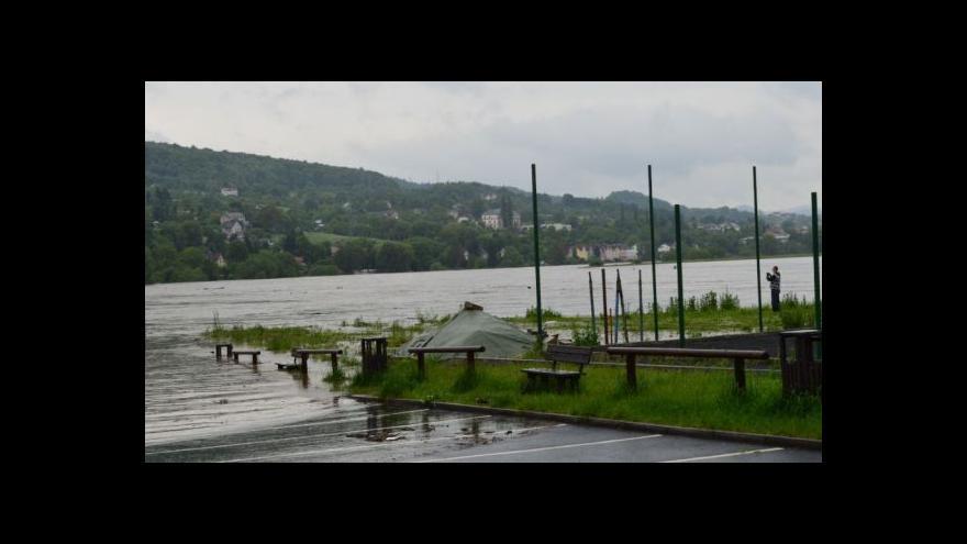 Video Velká voda na Ústecku tématem Událostí v regionech