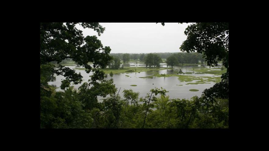 Video Povodňová situace v krajích