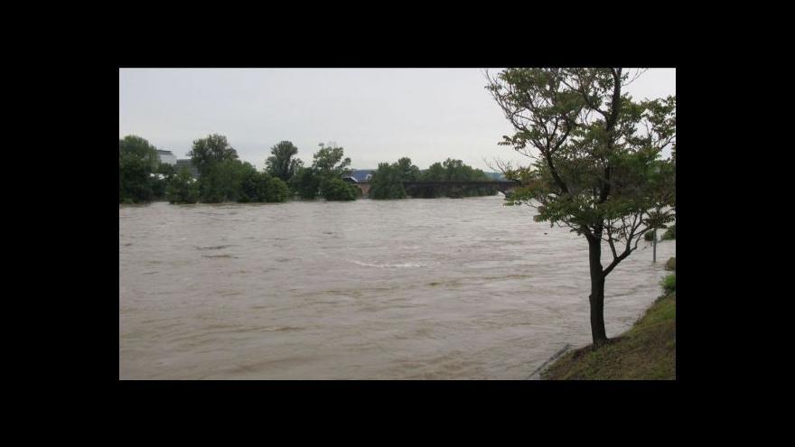Video Povodně v Praze - shrnutí dne