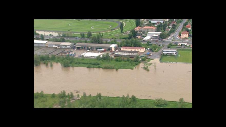 Video Vltava a její okolí z vrtulníku