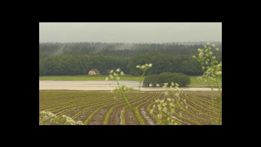 Video Povodně na jihu Čech