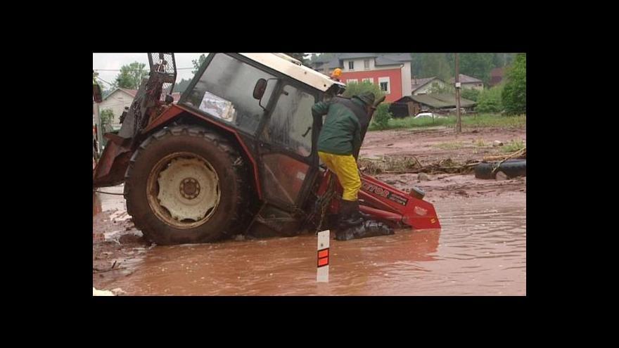 Video Velká voda v Podkrkonoší