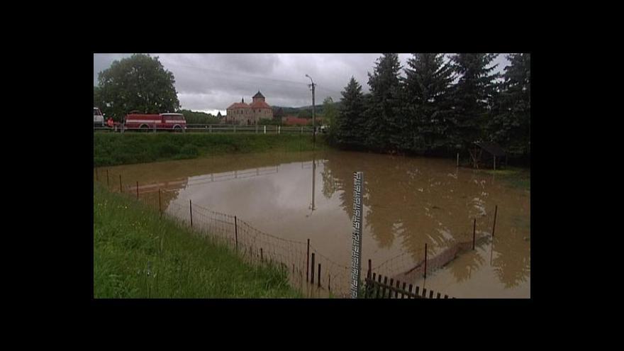 Video Velká voda na Klatovsku