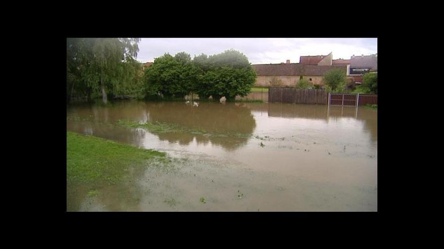 Video Velká voda v Plzni-Staňkově