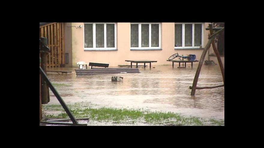 Video Velká voda v Táboru