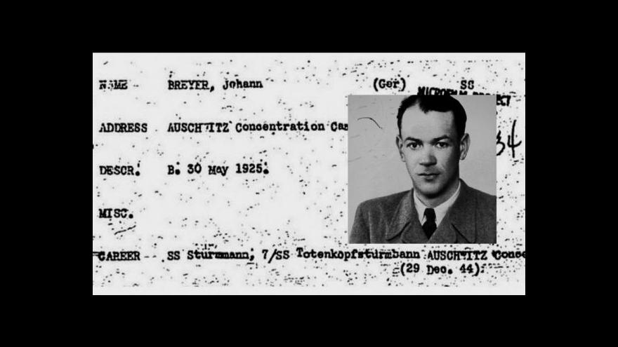 Video Honba za nacistickými zločinci pokračuje