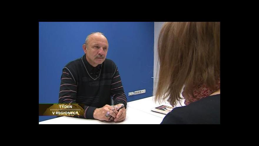 Video Rozhovor s kriminalistou Vladimírem Matouškem v pořadu Týden v regionech
