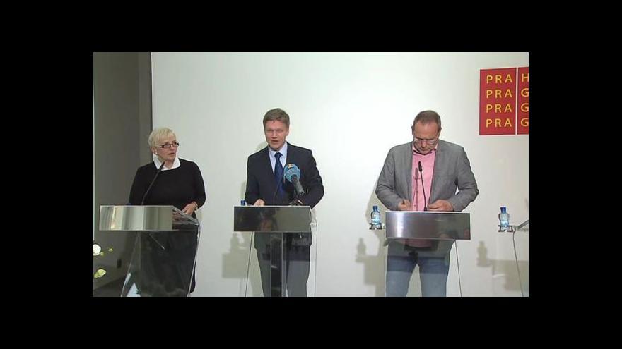 Video Brífink po zasedání Rady hl. m. Prahy