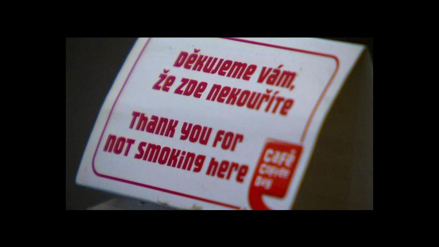 Video Spor vlády o zákaz kouření