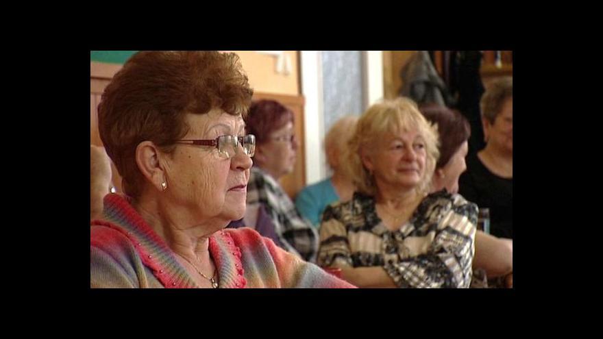 Video Zařízení pro seniory tématem Událostí v regionech