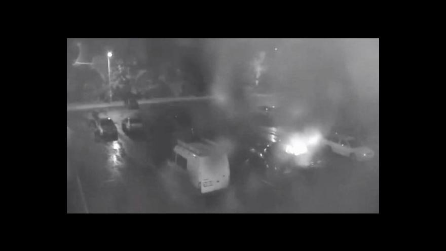 Video Antonín Bruštík o ničení aut v Sokolově