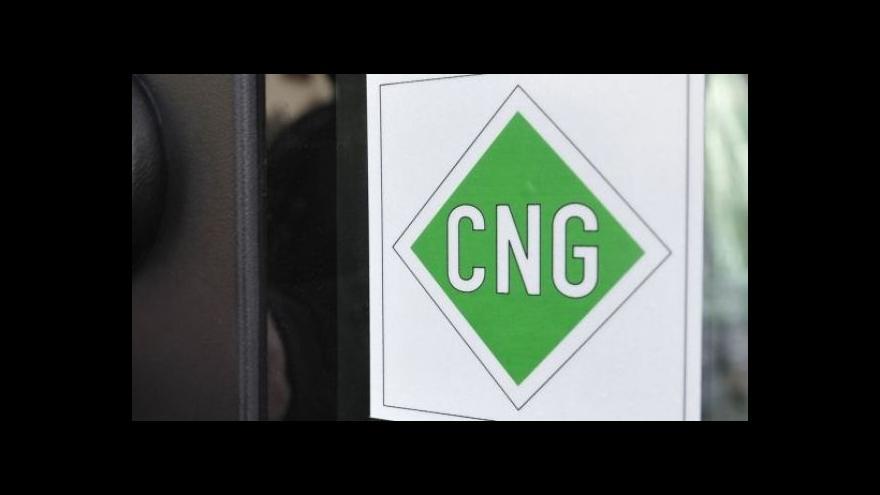 Video Počet stanic CNG se zvýší