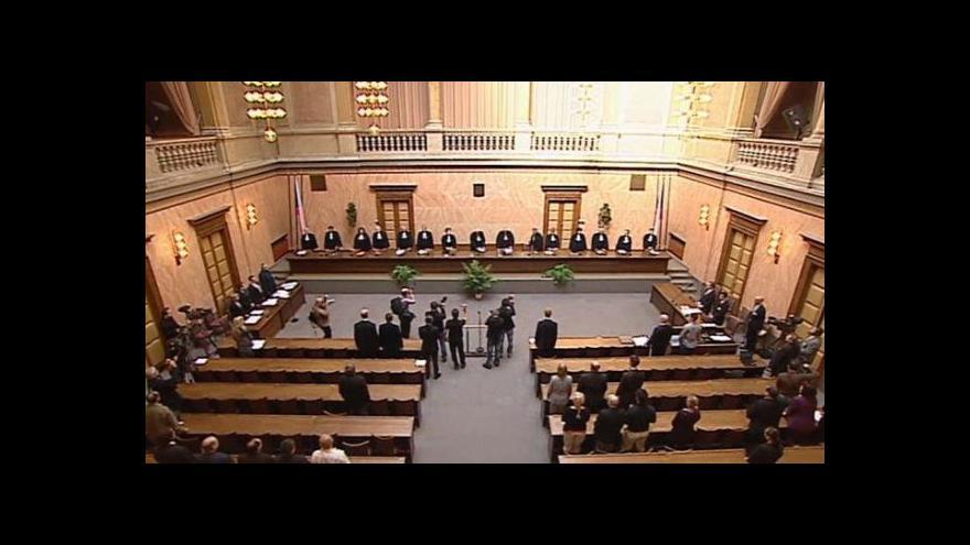 Video Jednání Ústavního soudu o restitucích
