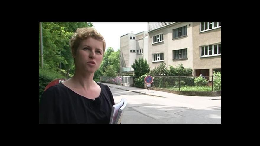 Video Spoluautorka BAMu Petra Hlaváčková o Kolonii Nový dům