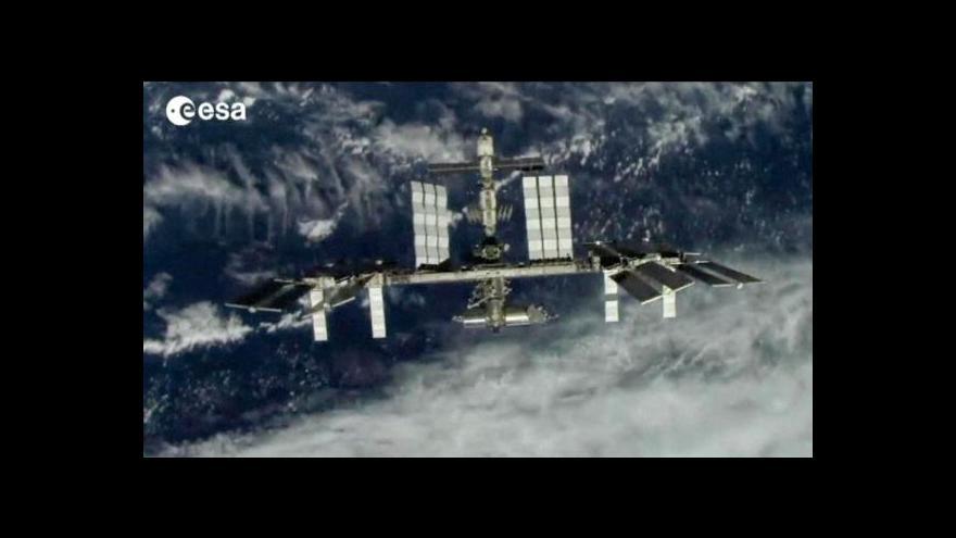 Video K vesmírné stanici ISS míří Sojuz