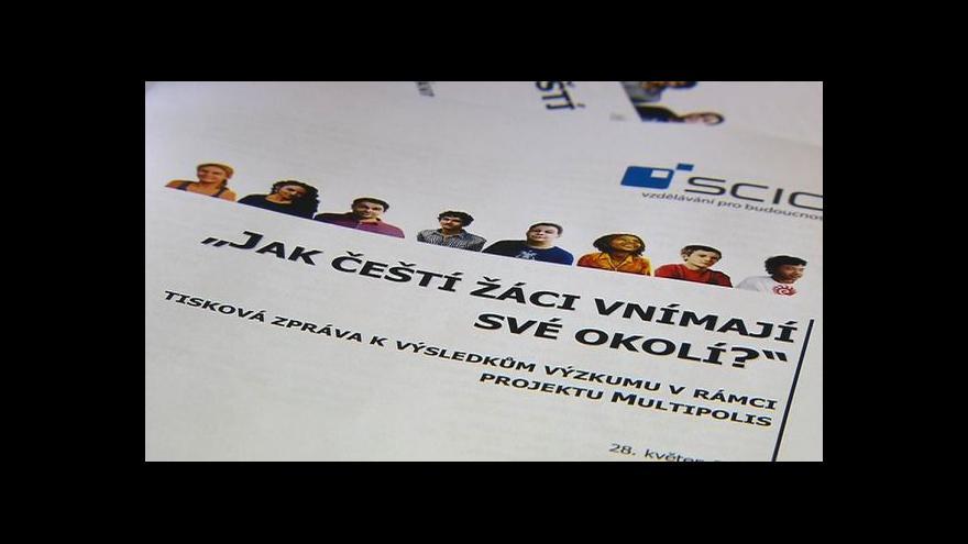 Video Průzkum upozornil na xenofobii na základních školách