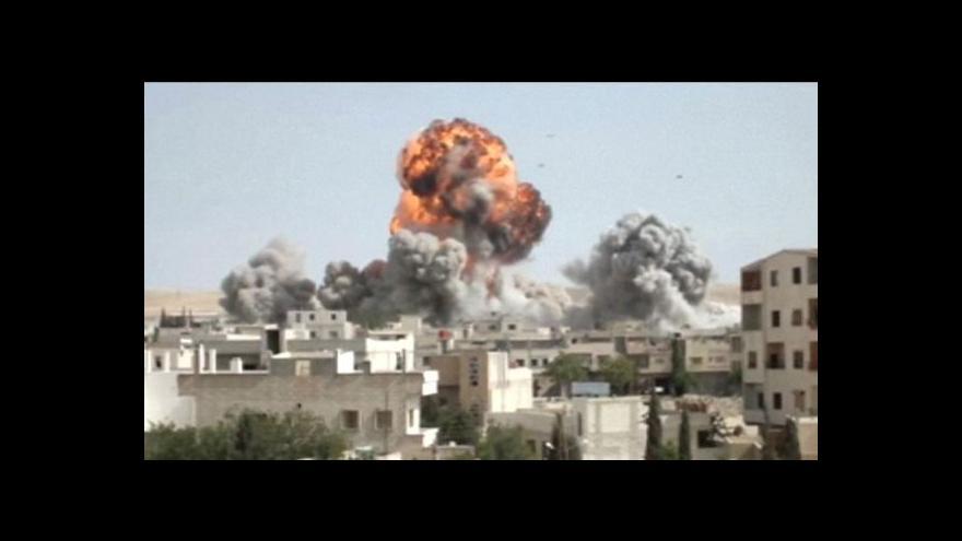Video Události o zbrojním embargu vůči Sýrii