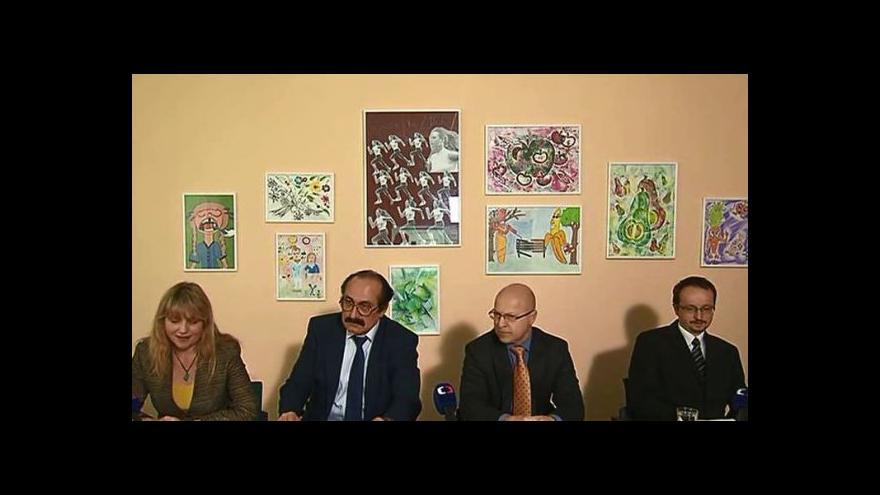 Video Brífink Vojenské zdravotní pojišťovny k výsledkům kontroly ministerstva zdravotnictví