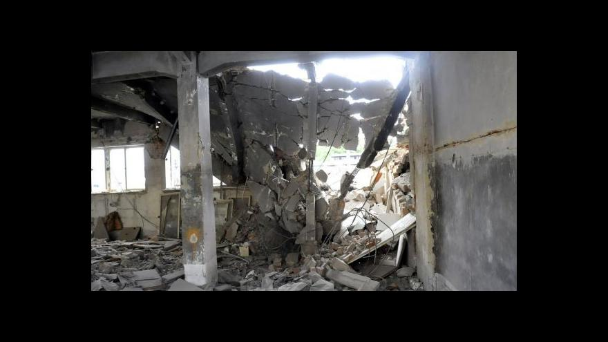 Video Radek Wiglasz o pádu domu v Ostravě