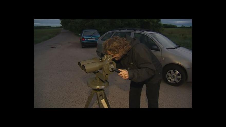 Video Předseda Znojemské astronomické společnosti Radek Dřevěný