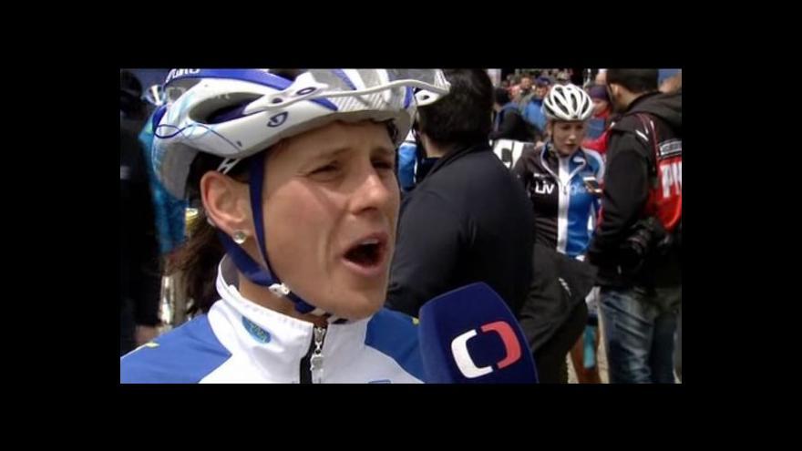 Video Reakce bikerky Kateřiny Nash po domácím světovém poháru v Novém Městě