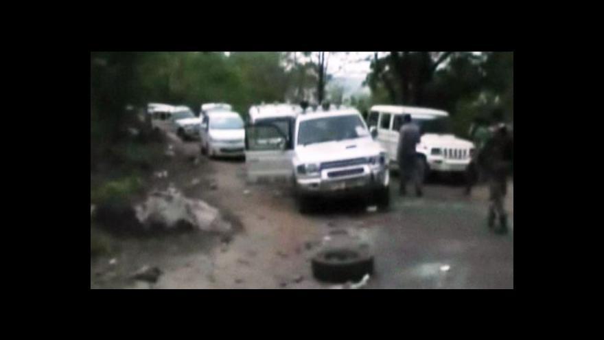 Video Útok na vládní konvoj