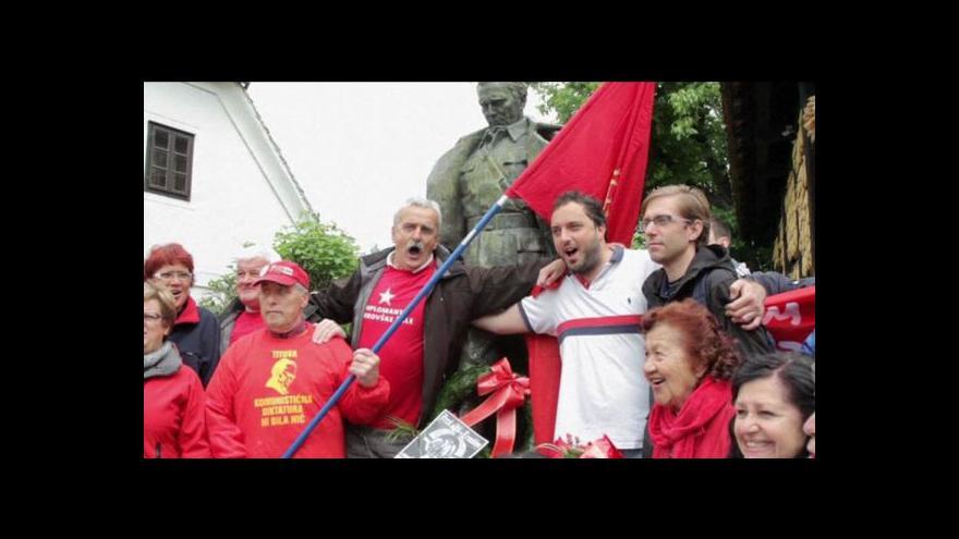 Video Bývalá Jugoslávie si připomíná narození Josipa Tita