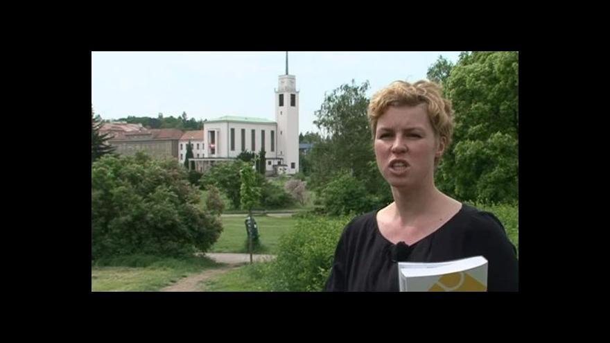 Video Spoluautorka BAMu Petra Hlaváčková o kostele sv. Augustina