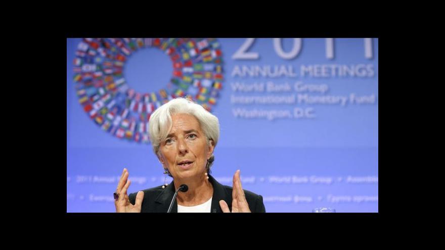 Video Lagardeová je v kauze zpronevěry podezřelou svědkyní