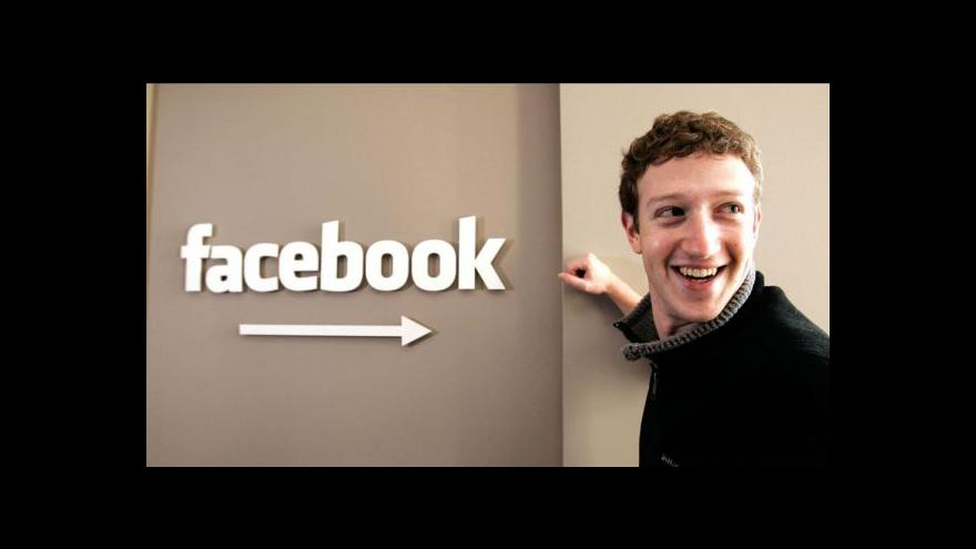 Video Zakladatel Facebooku byl soukromě v Praze