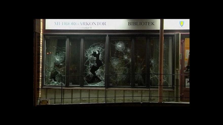 Video Studio ČT24: Nepokoje ve Švédsku pokračují