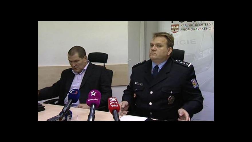 Video TK Jihomoravská policie ke čtyřnásobné vraždě