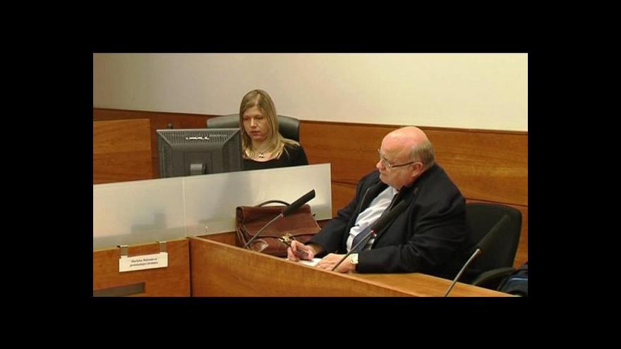 Video Studio ČT24: Soudce Havlín byl propuštěn na kauci